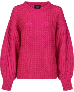 Розовый свитер из мохера Cavalli Class