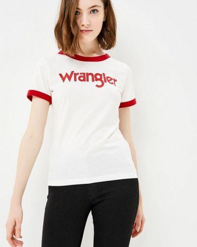 Футболка белая Wrangler