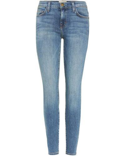 Укороченные джинсы скинни mom Current/elliott