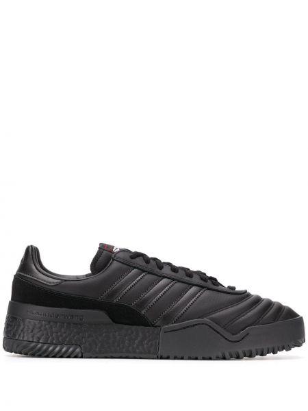 Кроссовки черные на шнуровке Adidas Originals By Alexander Wang