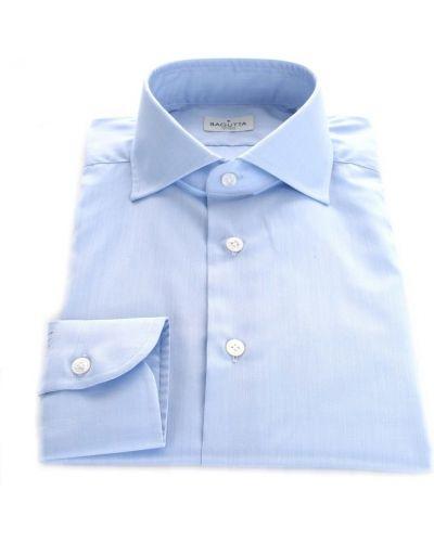 Niebieska klasyczna koszula Bagutta