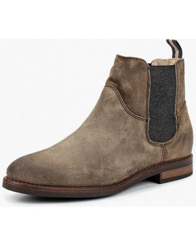 Ботинки челси осенние на каблуке Marc O'polo