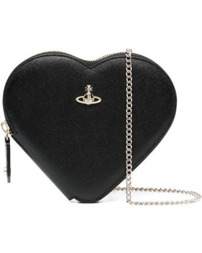 Czarny portfel Vivienne Westwood