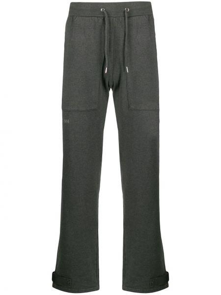 Spodnie bawełniane z haftem Han Kjobenhavn