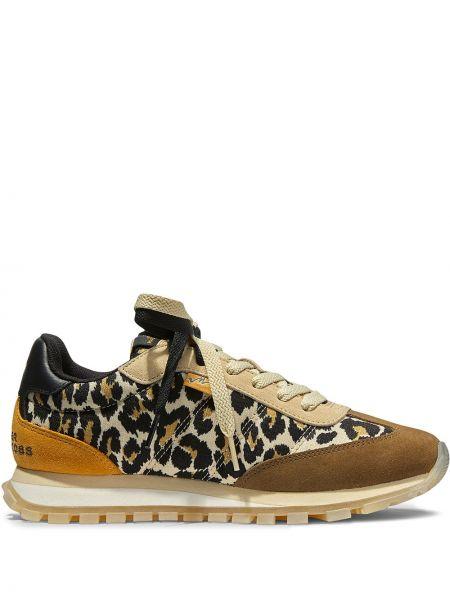Кожаные кроссовки - коричневые Marc Jacobs