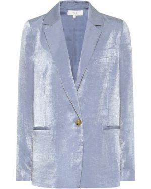 Пиджак костюмный синий Vince.