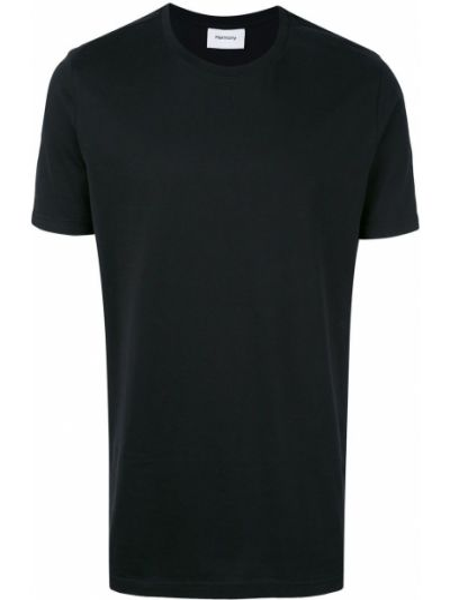 Черная футболка Harmony Paris