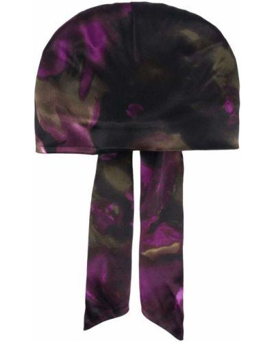 Кепка с принтом - фиолетовая Eugenia Kim