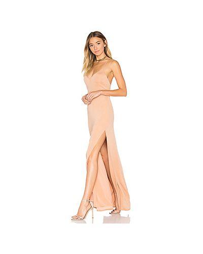 Вечернее платье с открытой спиной макси Nbd