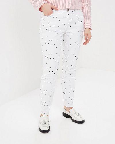 Белые джинсы с высокой посадкой Studio Untold