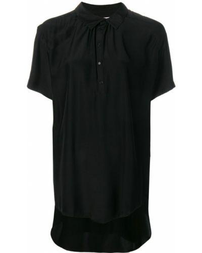 Блузка с короткими рукавами - черная A.f.vandevorst