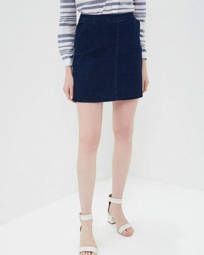 Джинсовая юбка синяя Oasis