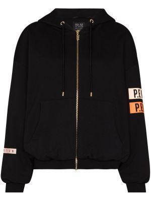 Черная куртка с логотипом P.e Nation