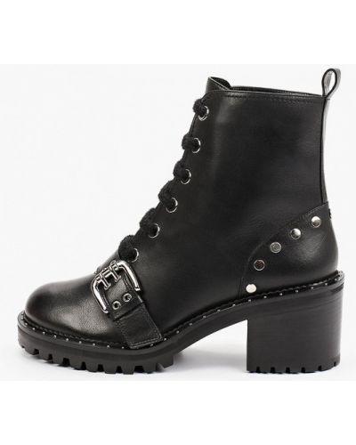 Черные зимние ботинки Pazolini