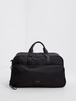 Текстильная дорожная сумка - черная Ted Baker London