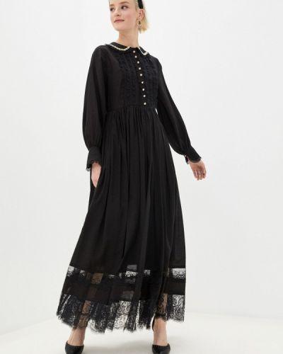 Прямое черное платье Sister Jane