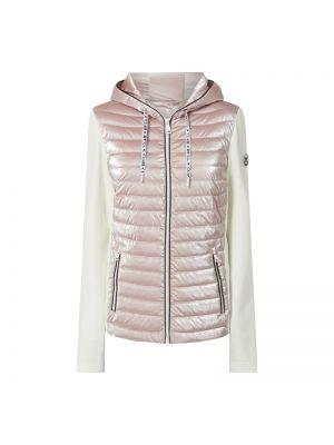 Różowa kurtka pikowana z wiskozy Fuchs Schmitt