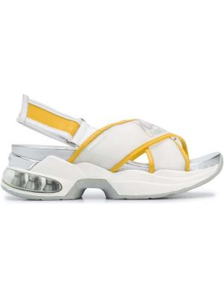 Сандалии на каблуке открытый Karl Lagerfeld