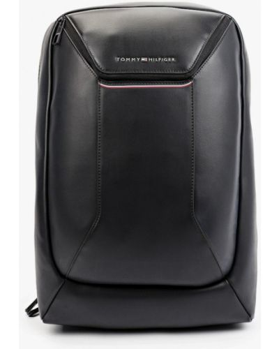 Черный городской рюкзак Tommy Hilfiger