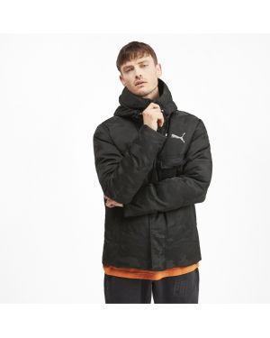 Черная куртка классическая Puma