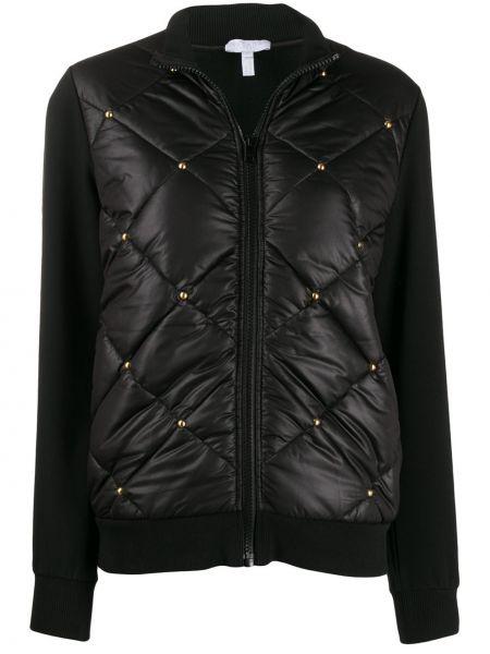 Спортивная куртка черная стеганая Escada Sport