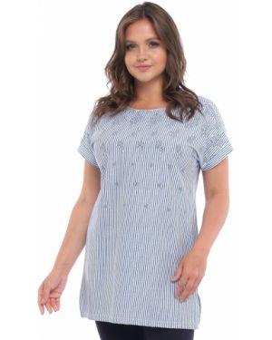 Блузка в полоску большой одевайте