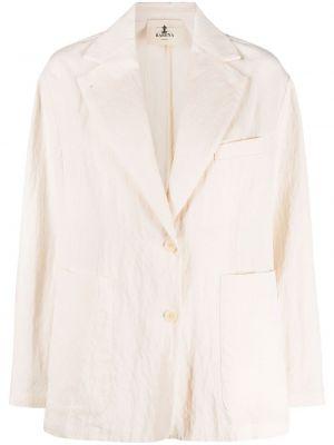 Однобортный удлиненный пиджак на пуговицах из вискозы Barena