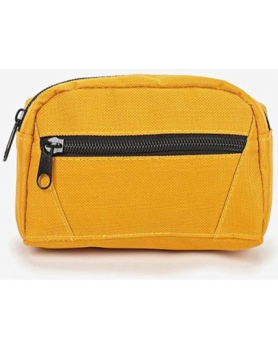 Желтая поясная сумка Sela