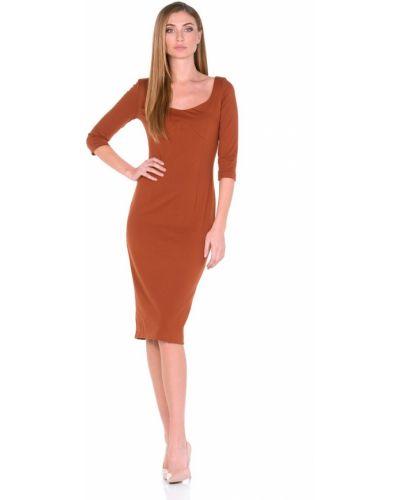 Вечернее платье миди деловое Rosa Blanco
