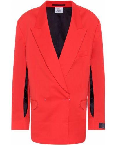 Пиджак шерстяной Vetements