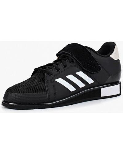 Черные низкие кеды Adidas