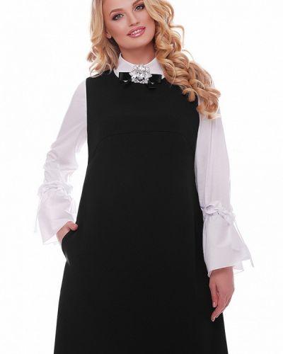 Черное платье весеннее Vlavi