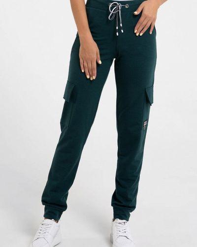 Зеленые брюки карго Magnet