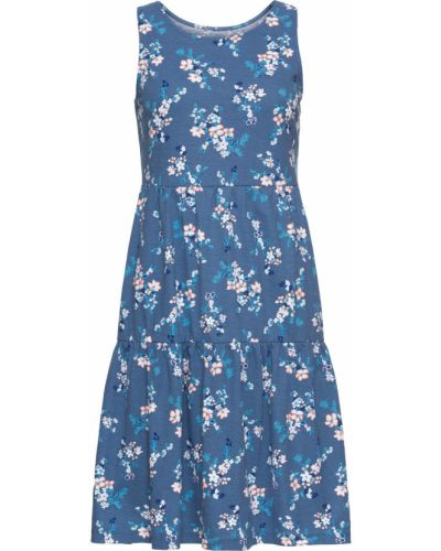 Джинсовое платье синее Bonprix