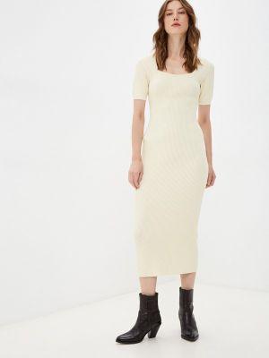 Вязаное платье - бежевое The Kooples