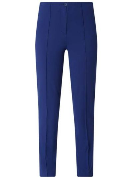 Niebieskie spodnie materiałowe Riani