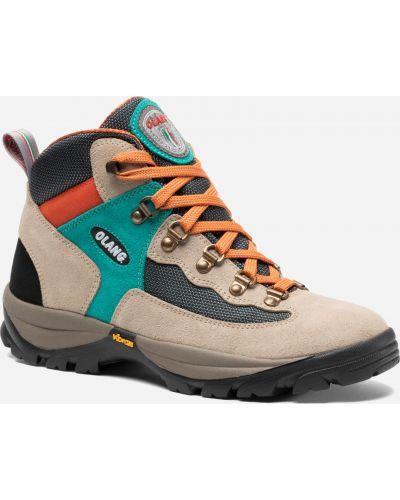 Легкие ботинки - бежевые Olang