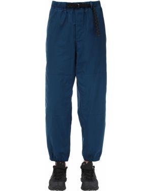 Niebieskie spodnie z paskiem klamry Nike Acg