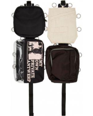 Рюкзак бежевый рюкзак-мешок Raf Simons