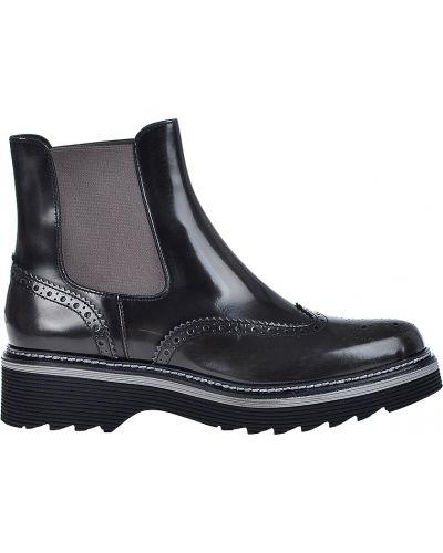 Кожаные ботинки - черные Laura Bellariva