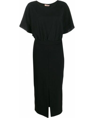Платье плиссированное со складками Twin-set