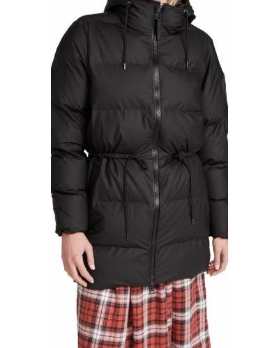 Дутая куртка - черная Rains