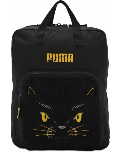 Czarny plecak z nylonu Puma Select