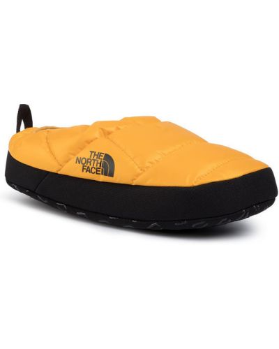 Żółte kapcie The North Face