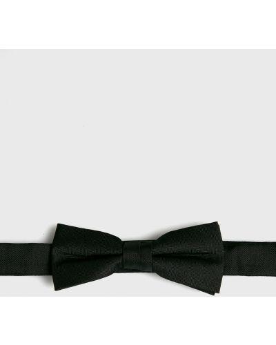 Галстук-бабочка шелковый черный S.oliver Black Label