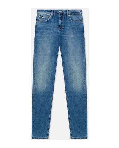 Джинсовые синие джинсы Calvin Klein Jeans