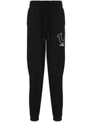 Спортивные брюки из полиэстера - черные True Religion