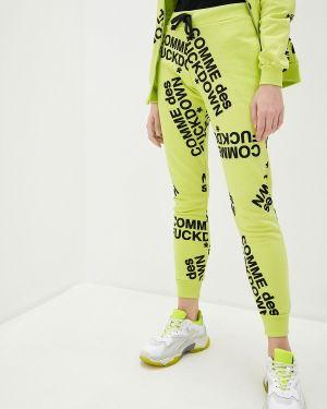 Пуховые спортивные брюки Comme Des Fuckdown