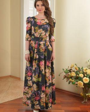 Вечернее платье летнее со складками Salvi-s