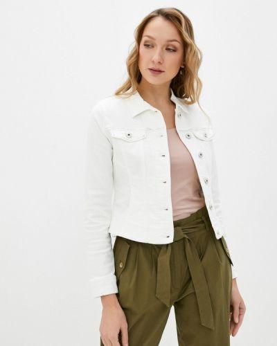 Белая джинсовая куртка Gerry Weber
